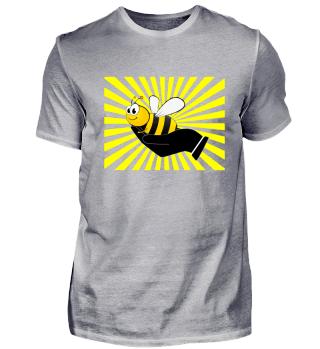 Biene, Hand, Tierschutz, Natur, Geschenk