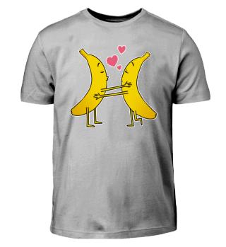 Valentinstag Banane verliebt T Shirt