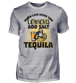 Tequila Lover Lemons Need Salt & Tequila