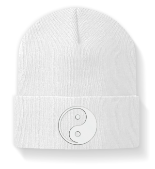 ♥ Embroidery - yin yang sign