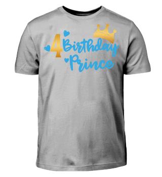 Fourth Baby Birthday Prince