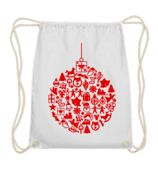 ★ Icons Christmas Tree Ball - red