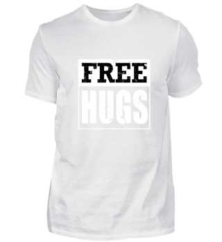 Free Hugs Funny Hipster T-Shirt