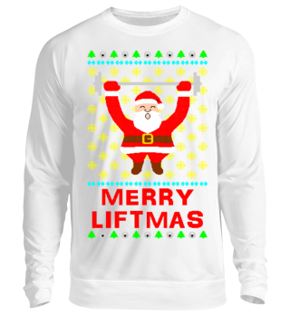 Merry Liftmas Ugly Xmas Sweater