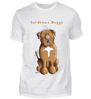 Drollige Bordeaux Dogge - Doggen - Hund