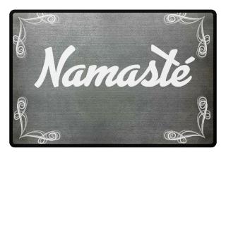 Fußmatte Willkommen Eingang Namaste - sei gesegnet