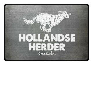 Hollandse Herder inside- Fußmatte