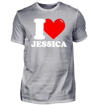 I Love Jessica Gifts