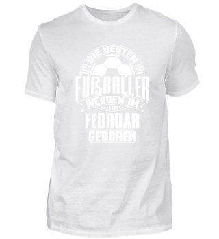 Fußball Geburtstag Februar