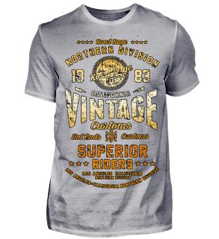 Vintage Nothern Division B orange