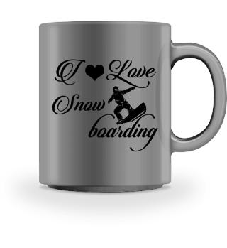 ♥ I LOVE SNOWBOARDING #4ST