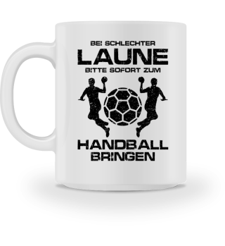 Handball: Schlechtgelaunt? Handball! - Geschenk