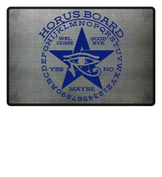 Mystical Pentagram Horus Board - blue