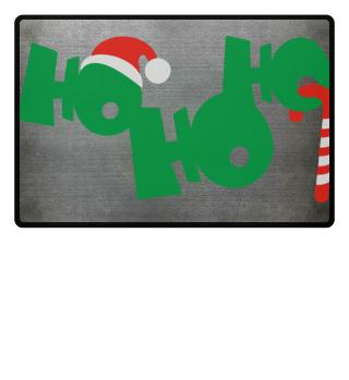 Christmas HO HO HO - Cap Candy Cane 1