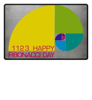 Fibonacci Spiral - 1123 HAPPY DAY 1