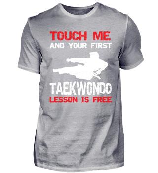 Funny Martial Arts Taekwondo Shirt Gift