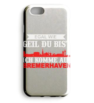 Ich komme aus Bremerhaven Handhülle