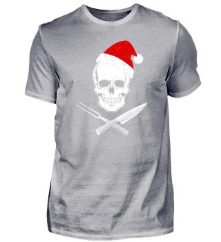 Koch-Shirt | XMAS-WEIHNACHTS-GASTRO (Ideales Geschenk)
