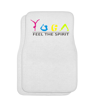 Yogo shirt feel the spirit Geschenk