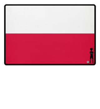 fussballkind - Fussmatte Polen