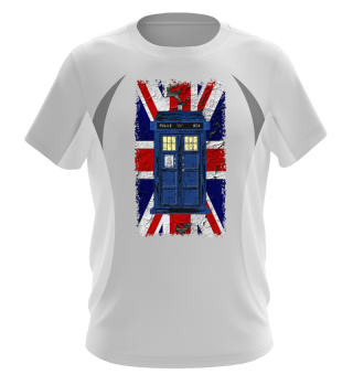 United Kingdom Flag Police Box 4