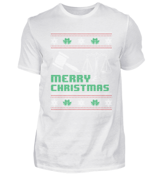 Lawyer Attorney Shirt Merry Christmas