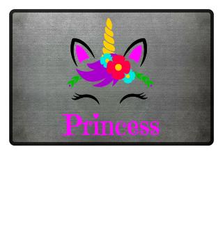 Princess Einhorn Fußmatte Geschenk