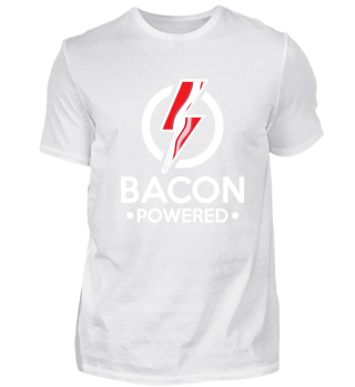 Bacon Powered - lightning taste morning