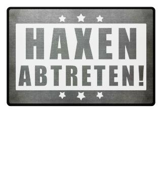 ★ HAXEN ABTRETEN #2WF