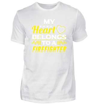 Limited My Heart Firefighter
