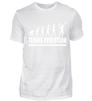 Evolution Tennisspieler Tennis T-Shirt