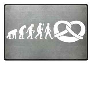 Evolution Of Humans - Pretzel II