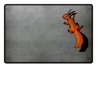 Eichhörnchen Fussmatte