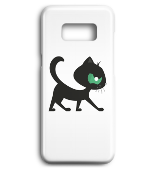 Black Cat Mobile Cases