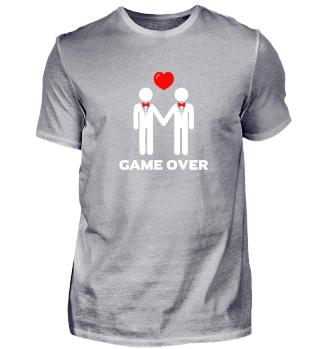 Game Over Homosexuell JGA, Hochzeit