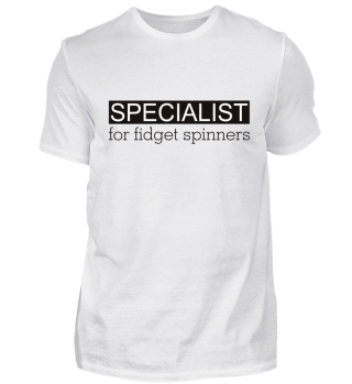 Specialist for FIDGET SPINNERS - black