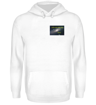 Geek Astro-Hoodie u.a. Accessoires: Andromeda-Galaxie Icon