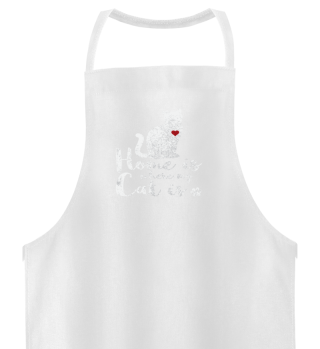 Cat Katze Shirt Home is where my Cat is