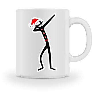 Christmas Dabbing Stick Figure Ia