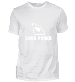 Love Poker game cards chips | gift idea