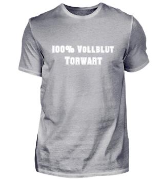 100% Vollblut Torwart - Fußball Spieler