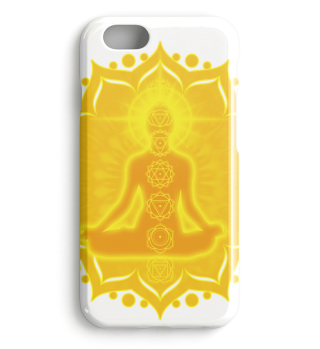 ♥ Yoga Lotus Meditation Chakren III case