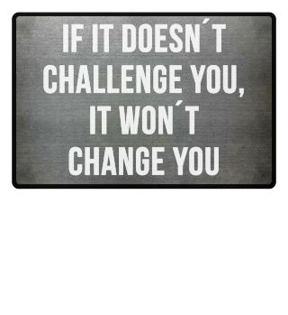 Karriere Sport Motivation Fussmatte