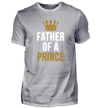 König Prinz Vater Sohn Shirt Geschenk
