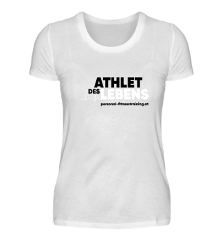 Athlet des Lebens Damen Premium Shirt