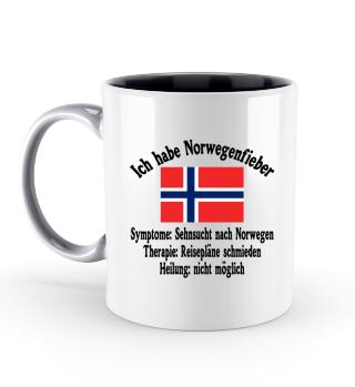 Norwegenfieber - Tasse - Norwegen