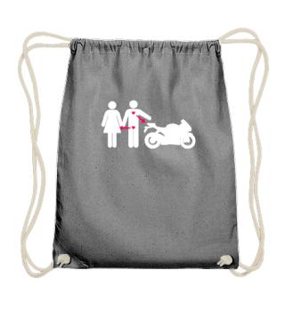 I love my Bike & Woman Shirt Motorrad Geschenk Biker