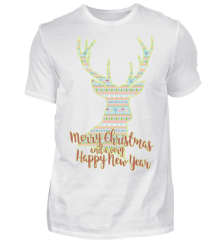 ★ Merry Christmas DEER pattern I