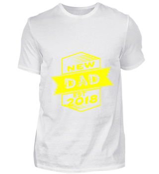 GIFT- NEW FAMILY DAD 2018 YELLOW