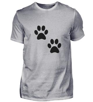 Hunde Pfote T-Shirt